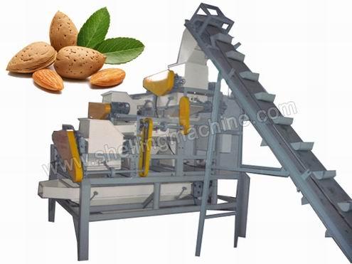large almond shelling unit