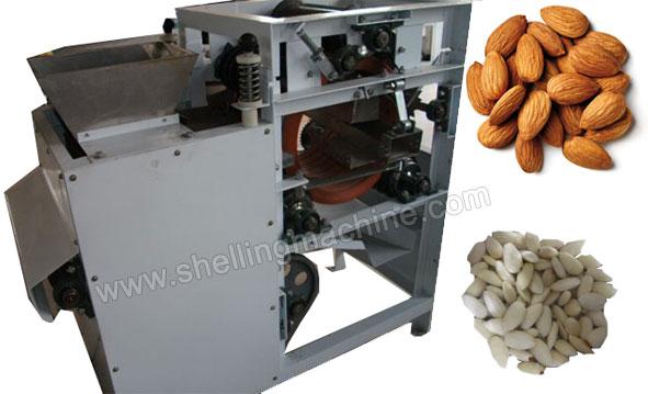 almond peeling machine