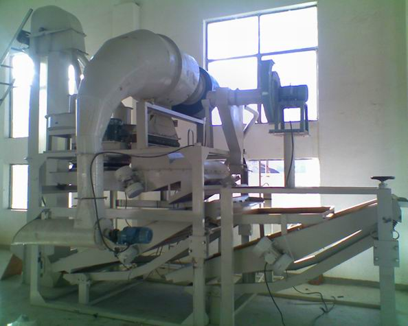 oat dehulling machine