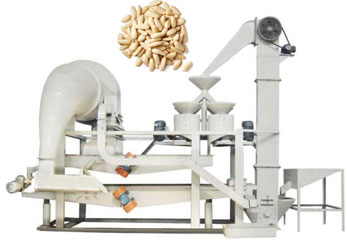Russian pine nut shelling machine pine nut sheller