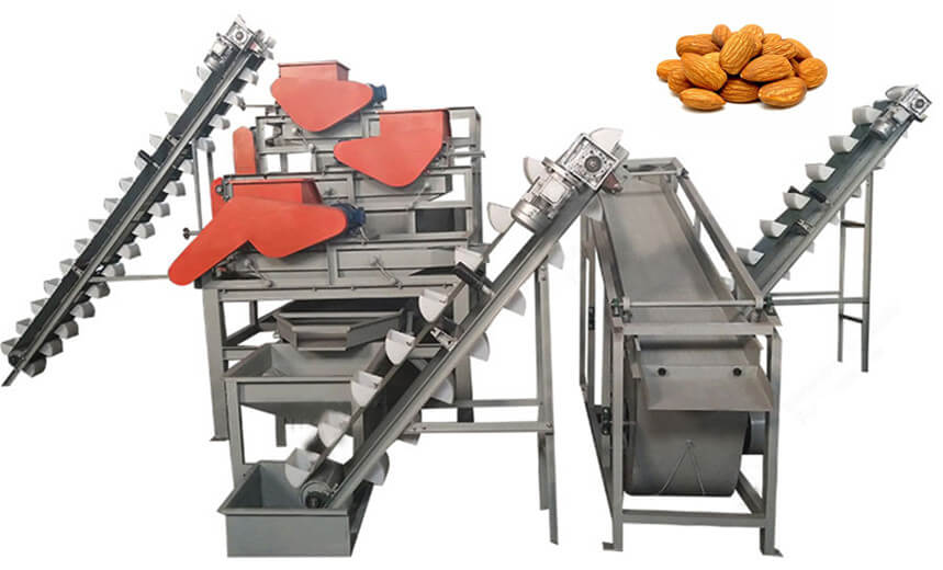 Almond Cracking and Separating Production Line