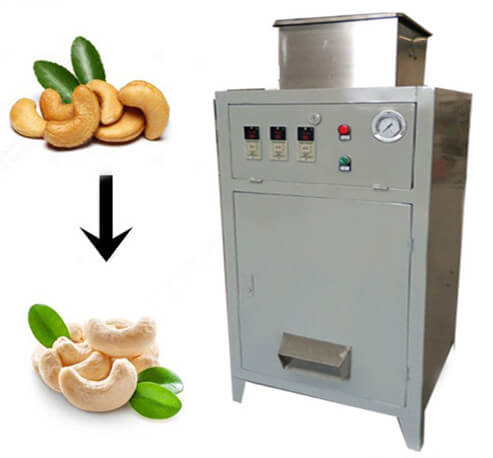 Cashew Skin Removing Machine