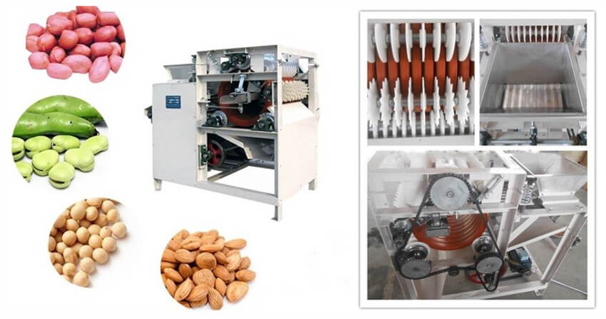 almond peeling machine for sale