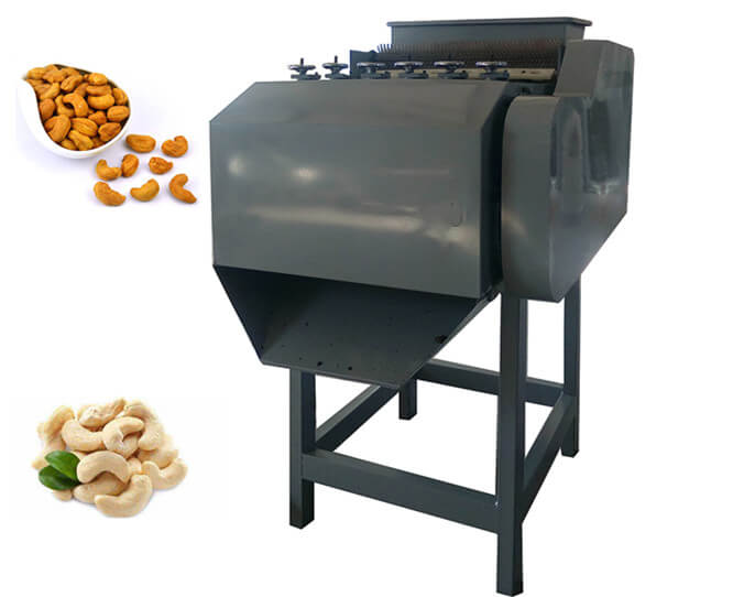 automatic cashew cracking machine
