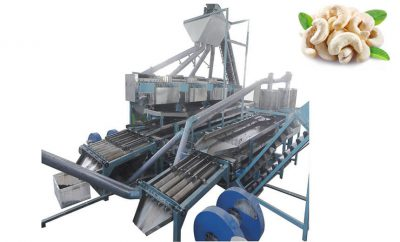 automatic cashew shelling machine unit