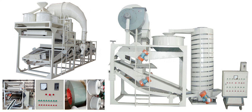 castor nut shelling machine