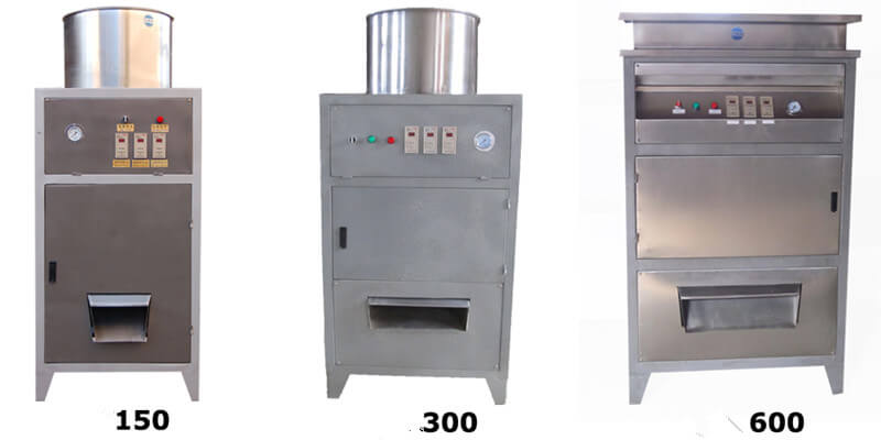 dry type peanut peeler machines