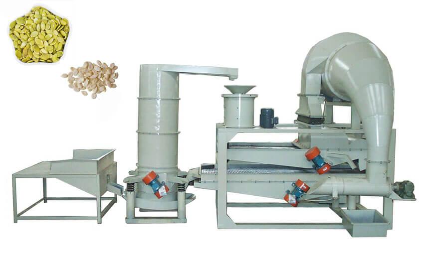 melon seeds dehulling machine line