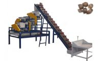 palm nut cracking separating equipment