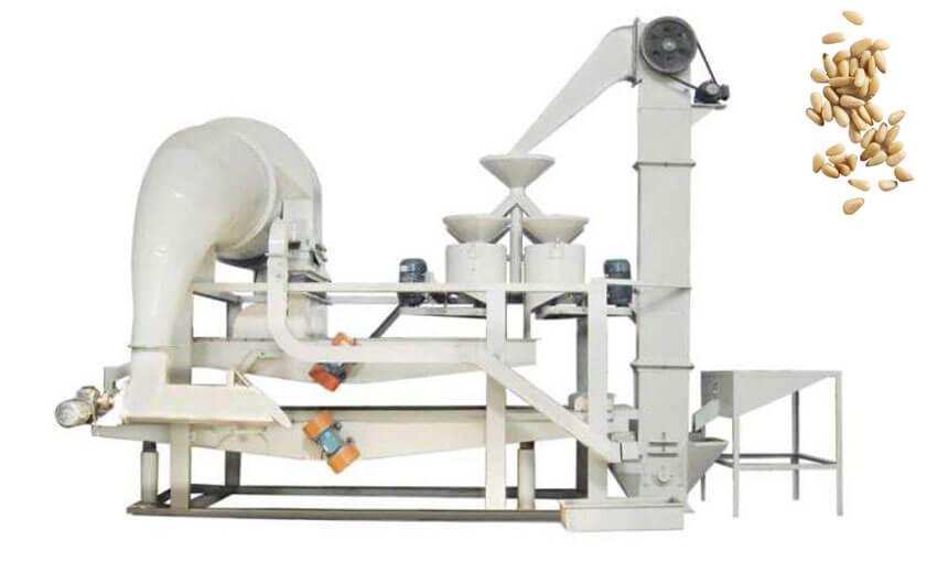 pine nut cracking equipment