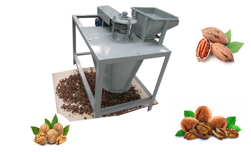walnut pecan shelling machine