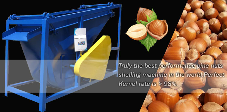 Hazelnut Shelling machine