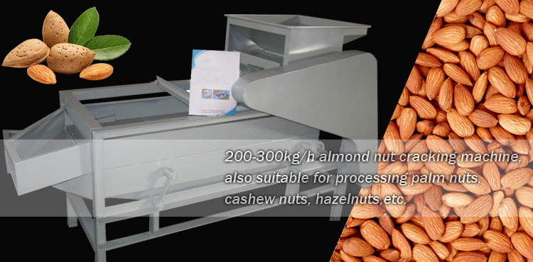 almond nut shelling machine