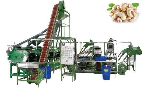 complete cashew processing line